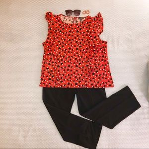 The Limited Plus-Sized Polka Dot Blouse